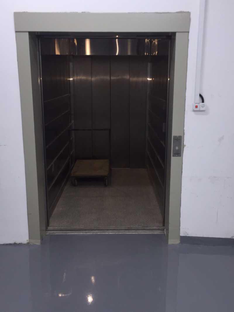 המעלית של אחסון בטוח