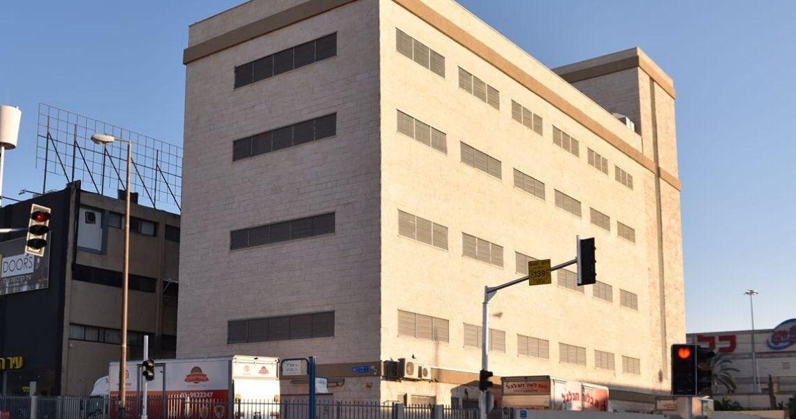 בניין אחסון בטוח